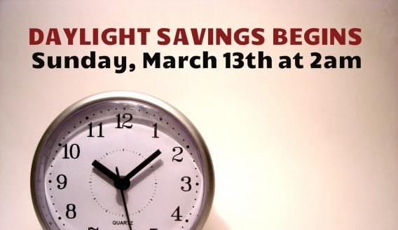 Fire Safety Message for Daylight Savings