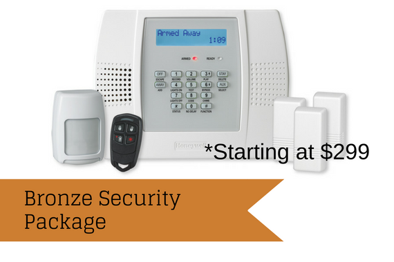 Bronze Security Package (starting at $299)