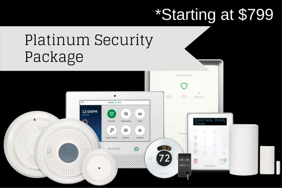 Platinum Security Package (starting at $799)